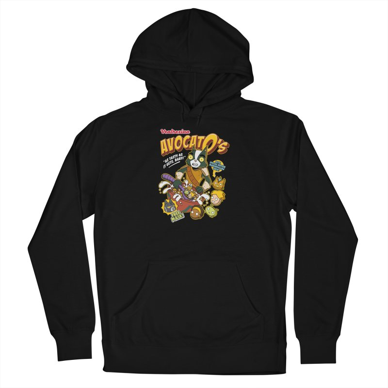 Avocato's Cereal Men's Pullover Hoody by Ian J. Norris