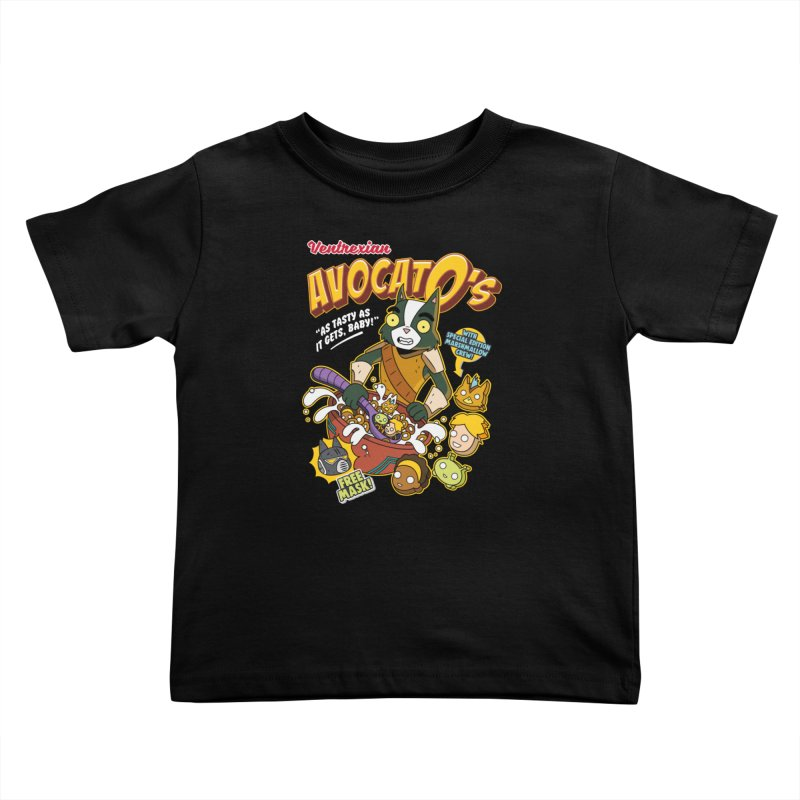Avocato's Cereal Kids Toddler T-Shirt by Ian J. Norris