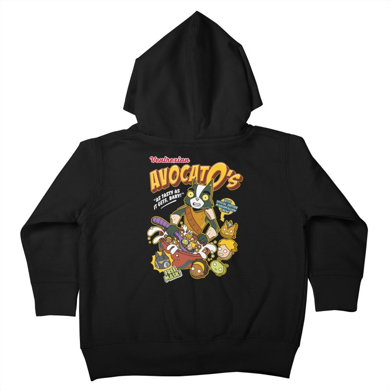 Avocato's Cereal Kids Toddler Zip-Up Hoody by Ian J. Norris