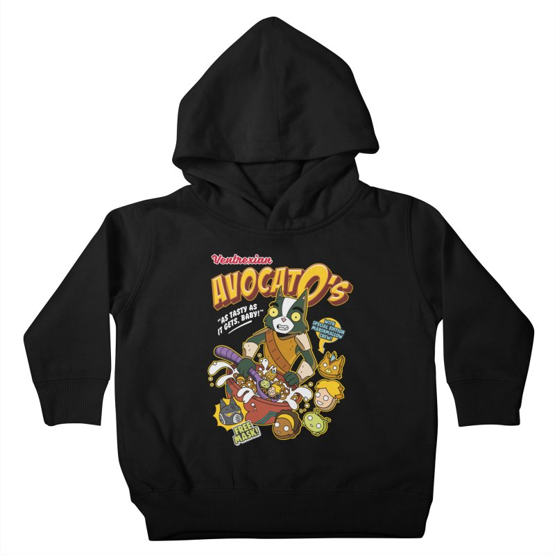 Avocato's Cereal Kids Toddler Pullover Hoody by Ian J. Norris