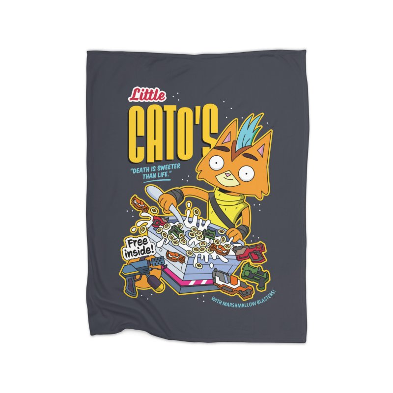 Little Cato's Cereal Home Blanket by Ian J. Norris