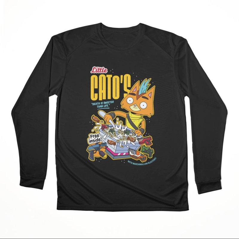 Little Cato's Cereal Women's Longsleeve T-Shirt by Ian J. Norris