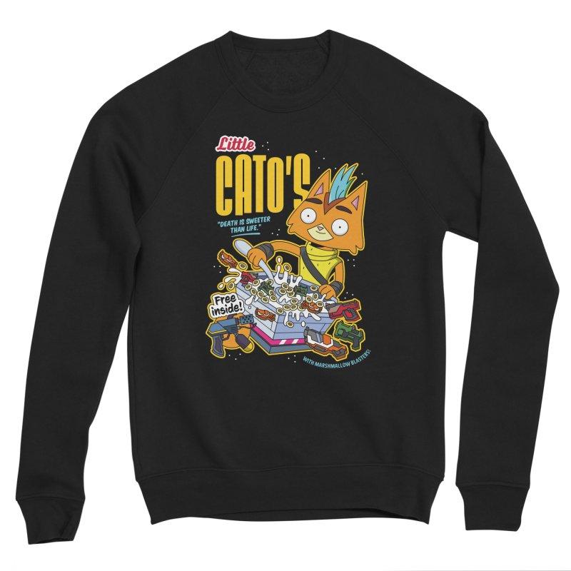Little Cato's Cereal Men's Sweatshirt by Ian J. Norris