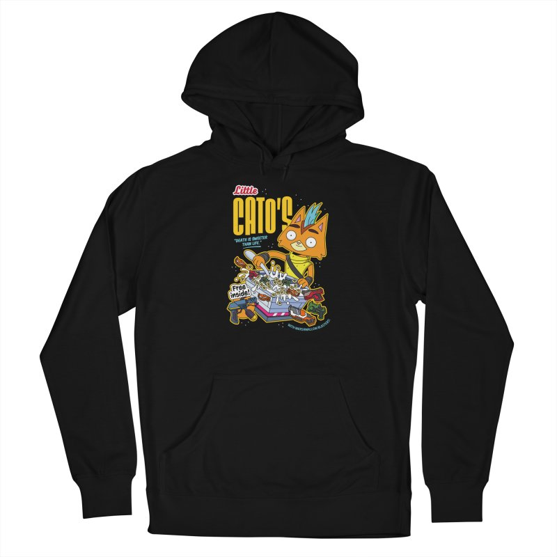 Little Cato's Cereal Men's Pullover Hoody by Ian J. Norris