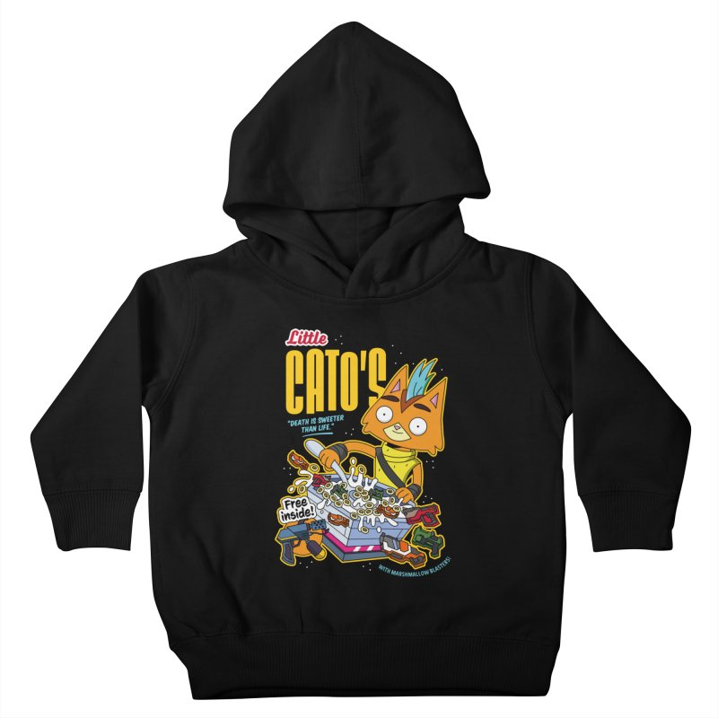 Little Cato's Cereal Kids Toddler Pullover Hoody by Ian J. Norris