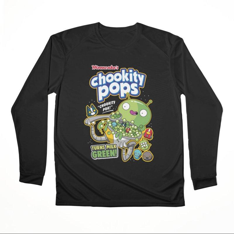 Mooncake's Chookity Pops Men's Longsleeve T-Shirt by Ian J. Norris
