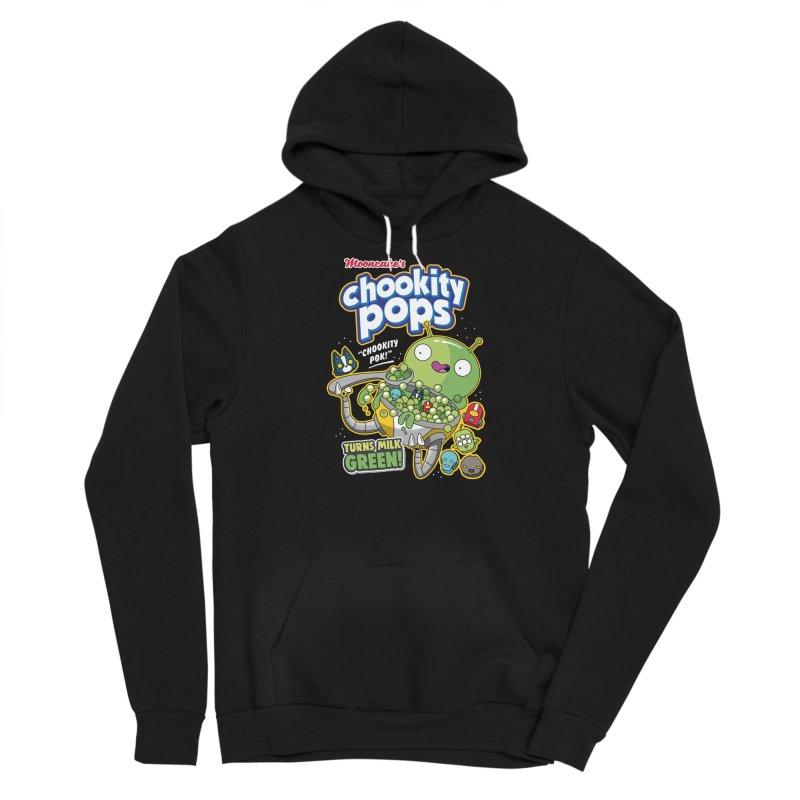 Mooncake's Chookity Pops Men's Pullover Hoody by Ian J. Norris