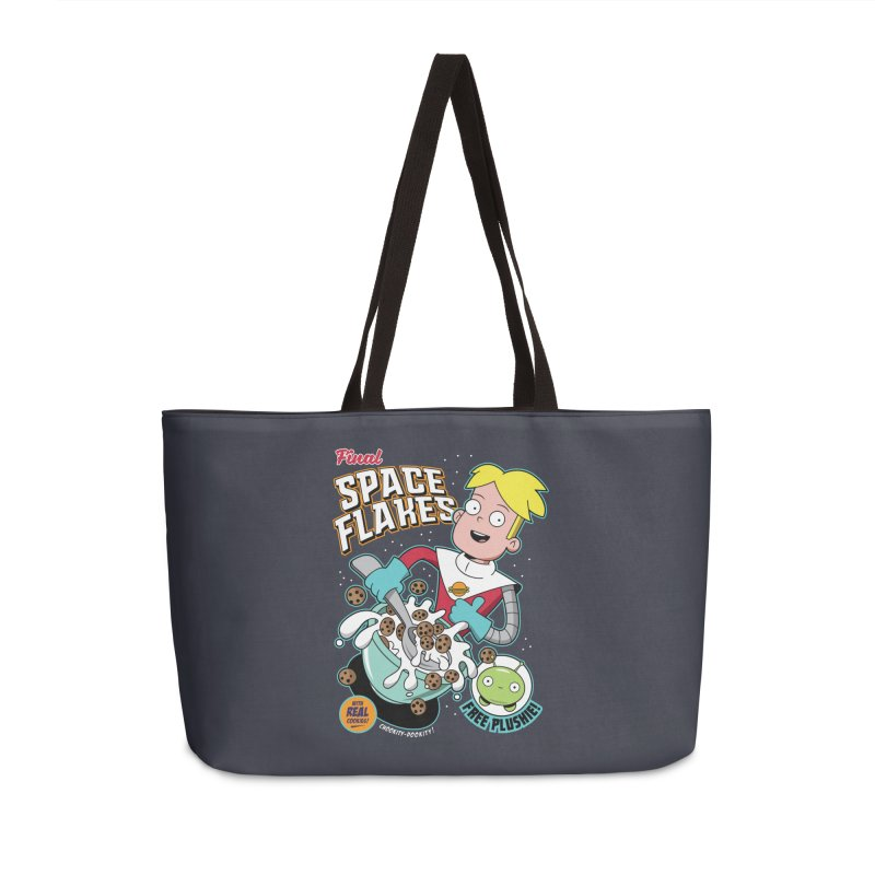 Final Space Flakes Accessories Bag by Ian J. Norris
