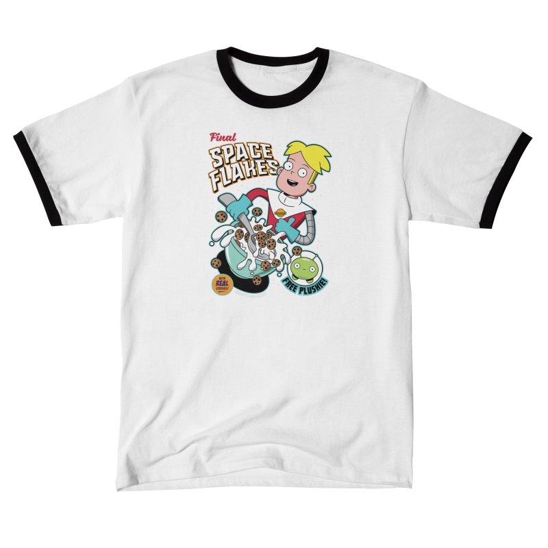 Final Space Flakes Men's T-Shirt by Ian J. Norris