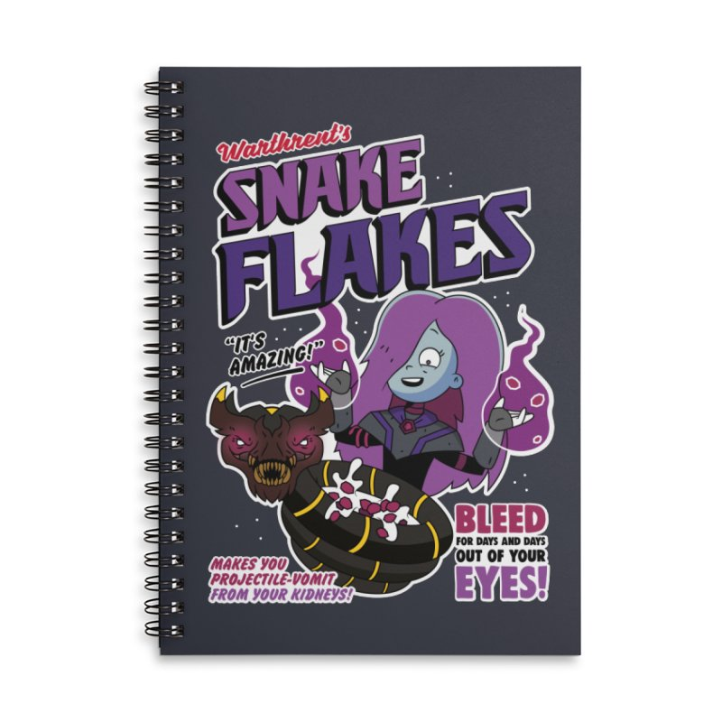 Warthrent's Snake Flakes Accessories Notebook by Ian J. Norris