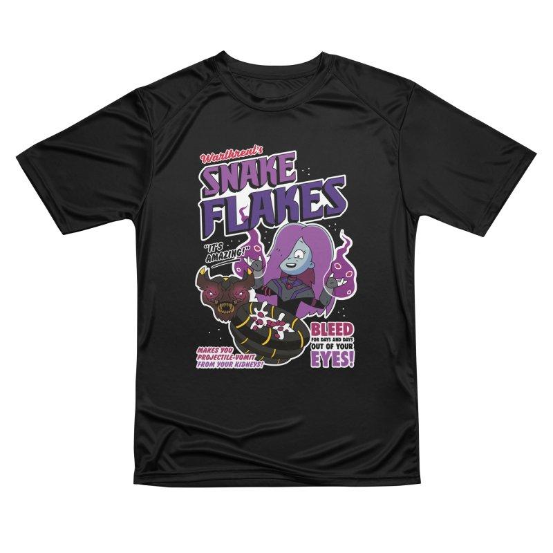 Warthrent's Snake Flakes Women's T-Shirt by Ian J. Norris