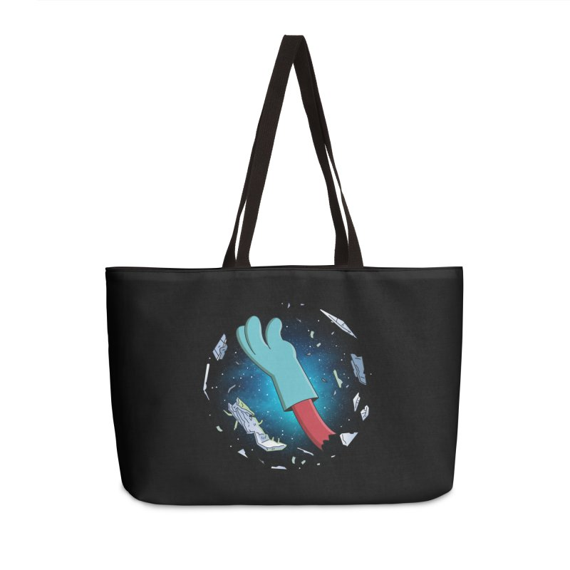 Final Space v Dead Space - Gary's Arm Accessories Bag by Ian J. Norris