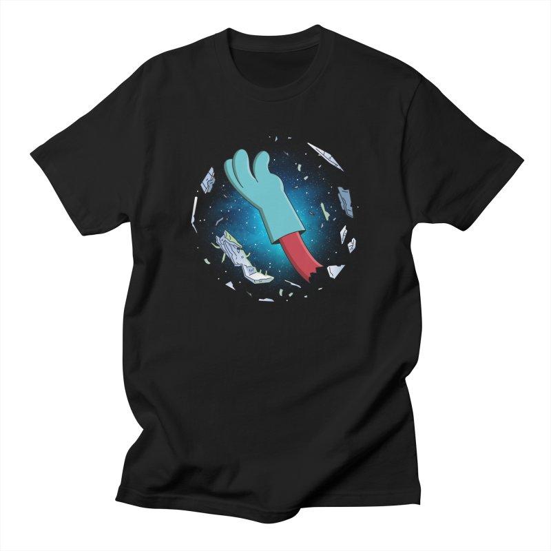 Final Space v Dead Space - Gary's Arm Men's T-Shirt by Ian J. Norris