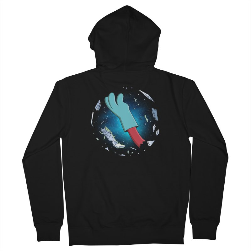 Final Space v Dead Space - Gary's Arm Men's Zip-Up Hoody by Ian J. Norris