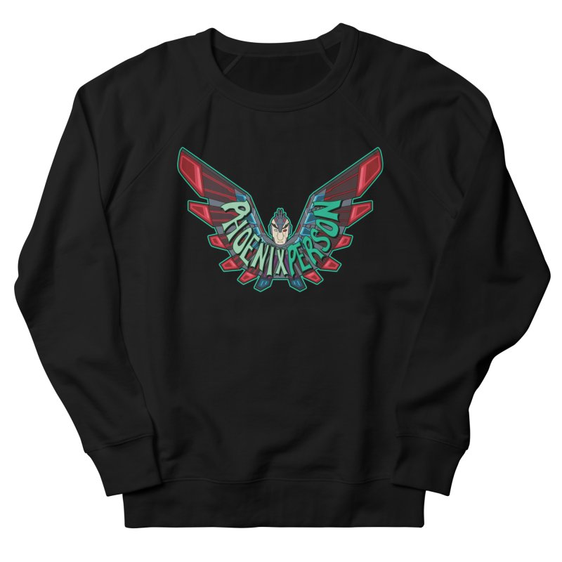 Phoenix Person Men's Sweatshirt by Ian J. Norris