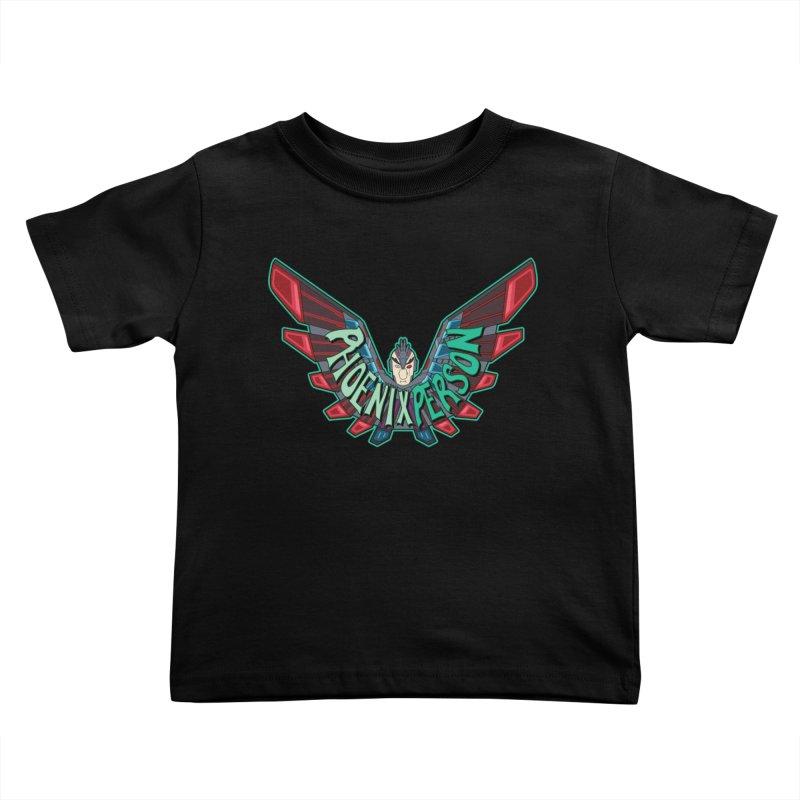 Phoenix Person Kids Toddler T-Shirt by Ian J. Norris