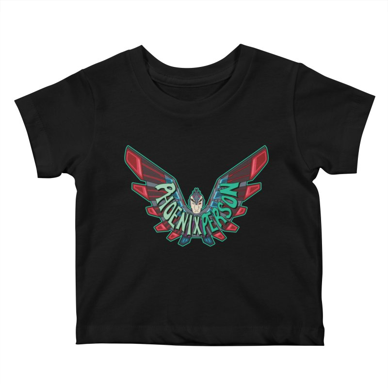 Phoenix Person Kids Baby T-Shirt by Ian J. Norris