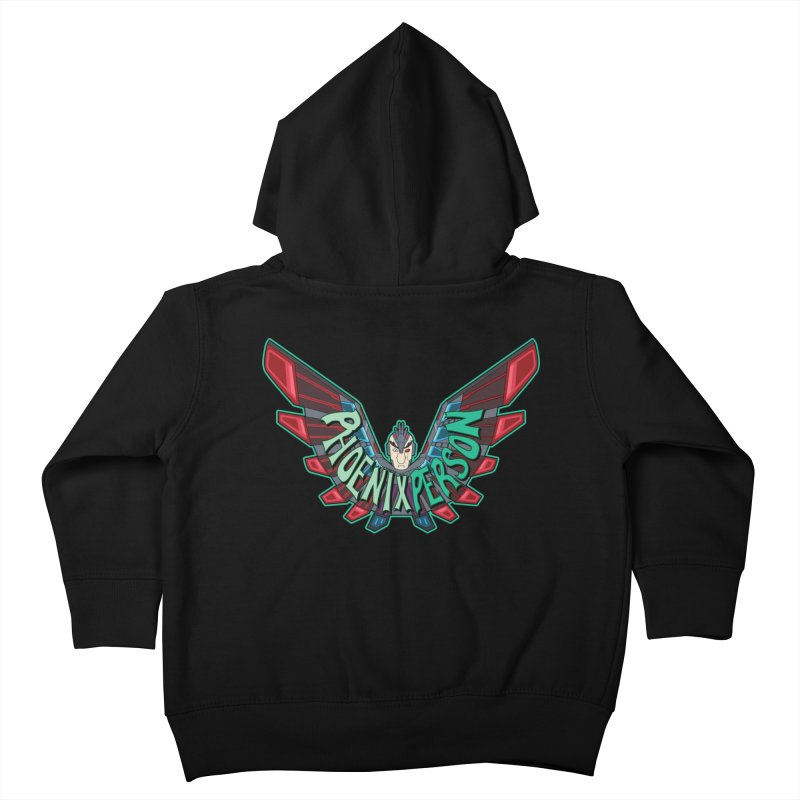 Phoenix Person Kids Toddler Zip-Up Hoody by Ian J. Norris