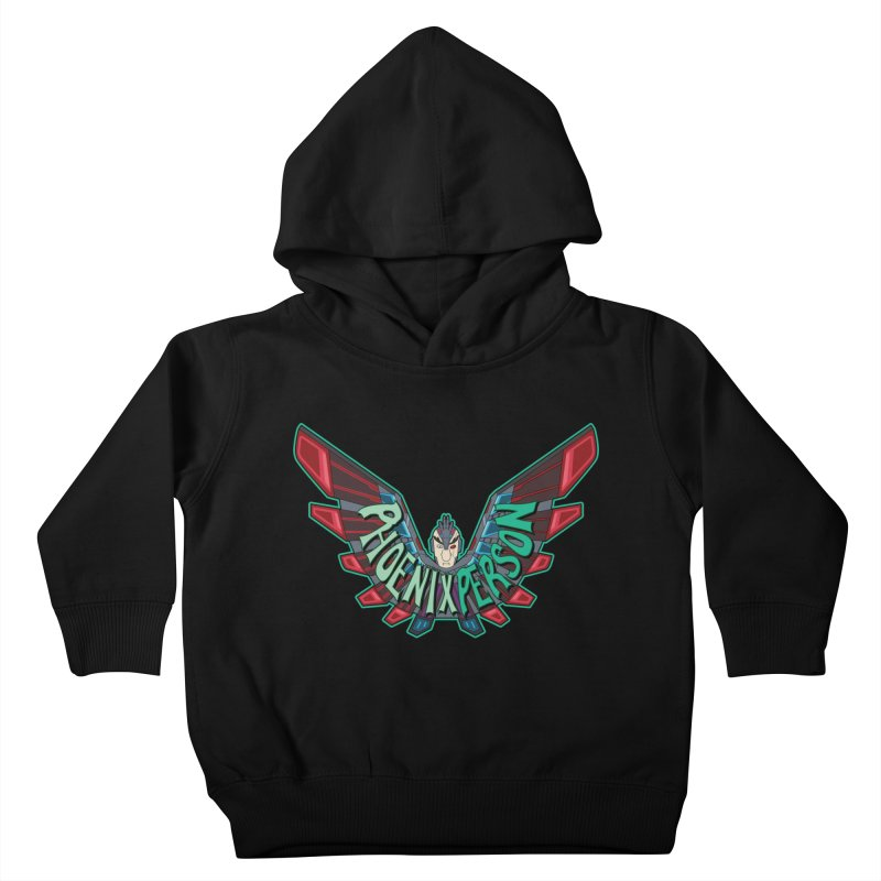 Phoenix Person Kids Toddler Pullover Hoody by Ian J. Norris