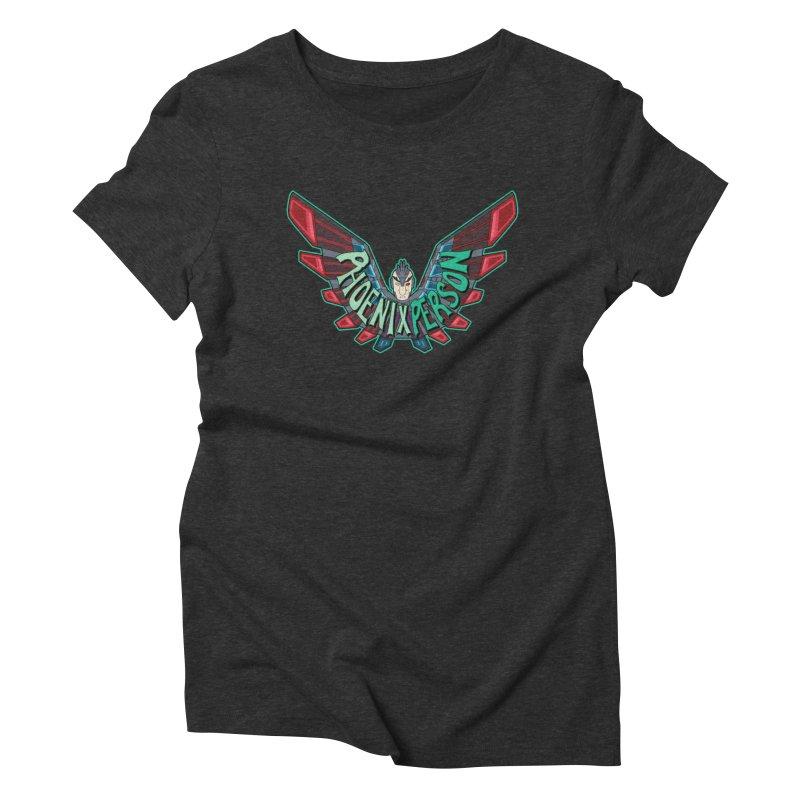 Phoenix Person Women's T-Shirt by Ian J. Norris
