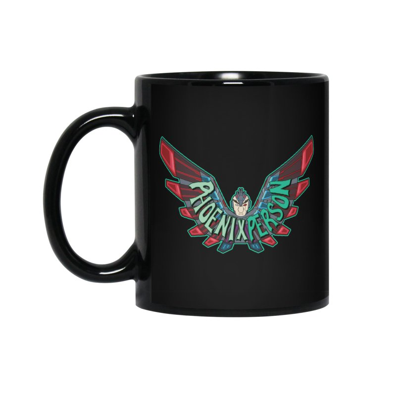 Phoenix Person Accessories Mug by Ian J. Norris