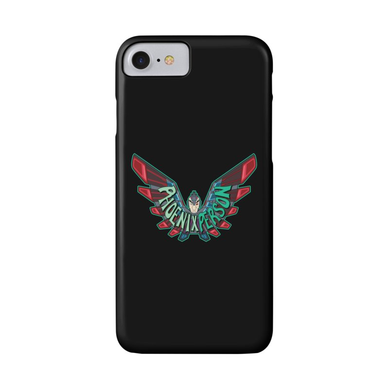Phoenix Person Accessories Phone Case by Ian J. Norris