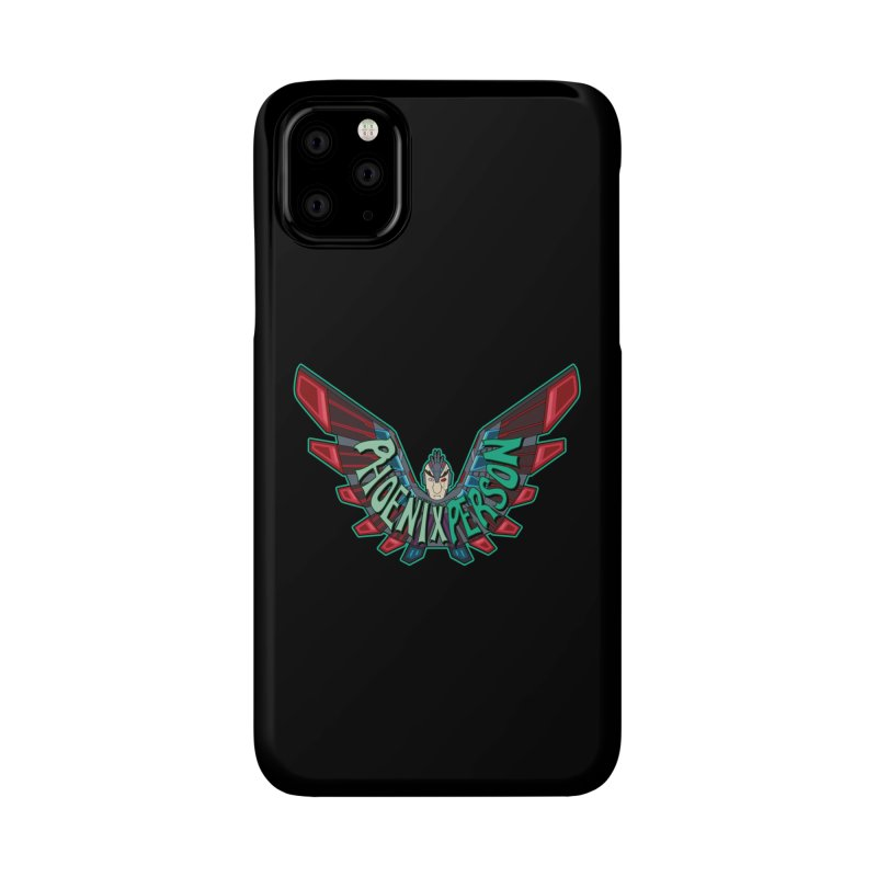 Phoenix Person Accessories Phone Case by Ian J. Norris