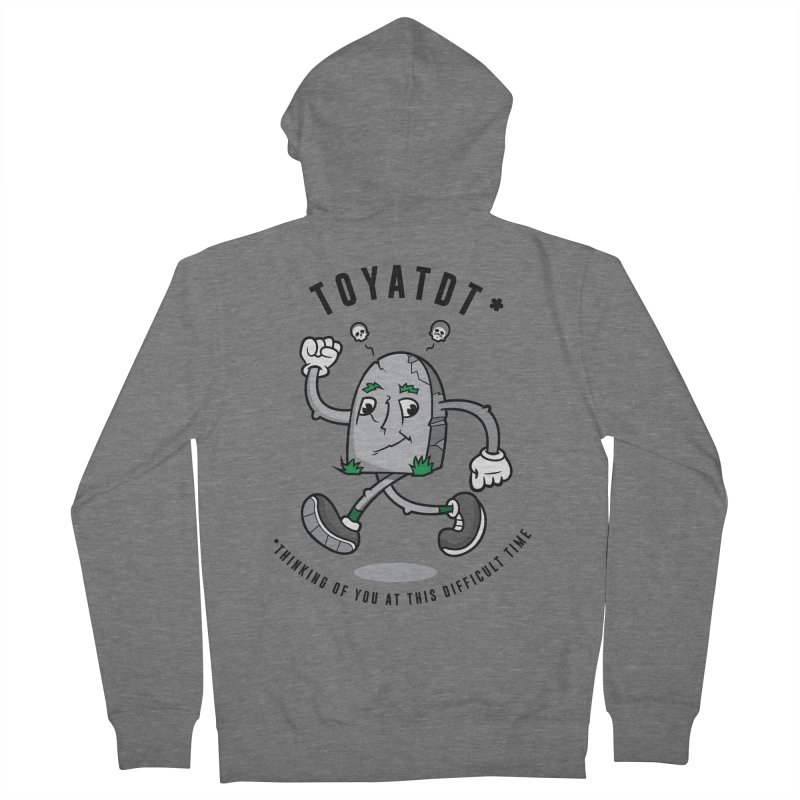 TOYATDT Women's Zip-Up Hoody by Ian J. Norris