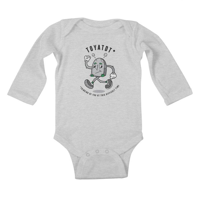 TOYATDT Kids Baby Longsleeve Bodysuit by Ian J. Norris