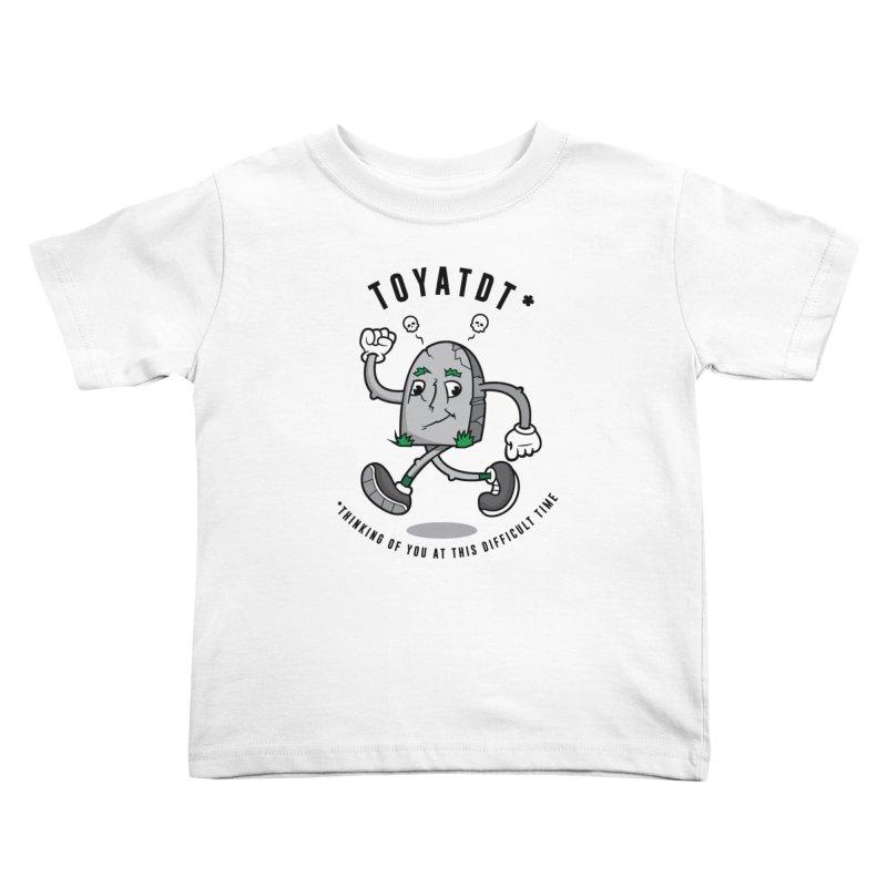 TOYATDT Kids Toddler T-Shirt by Ian J. Norris