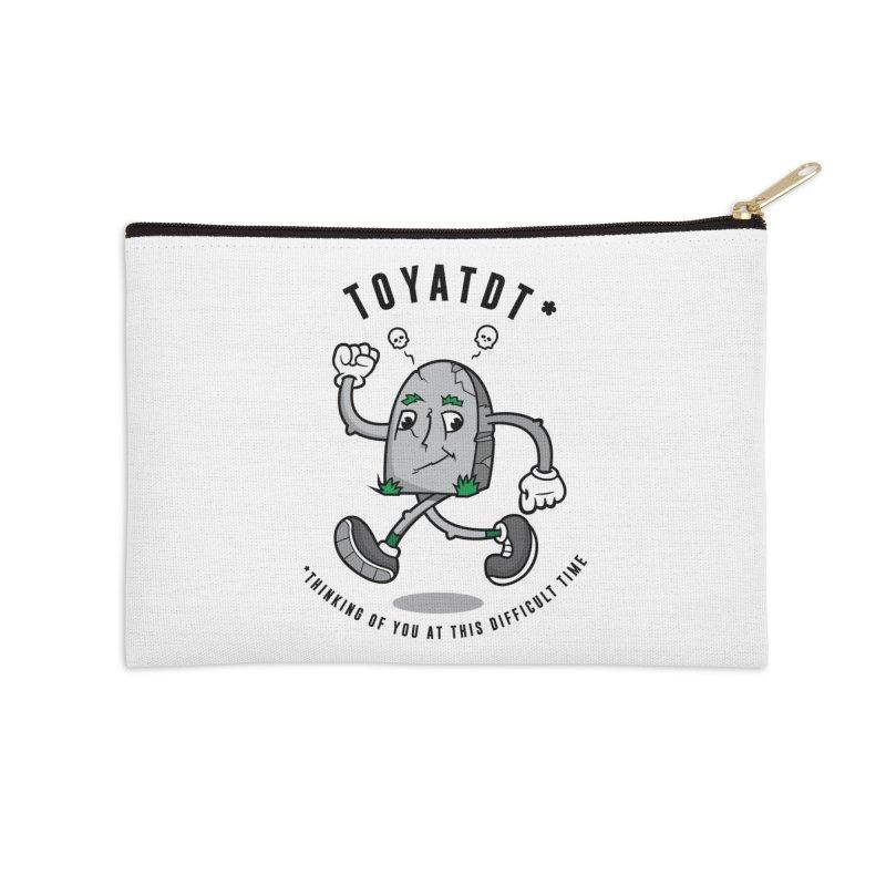TOYATDT Accessories Zip Pouch by Ian J. Norris