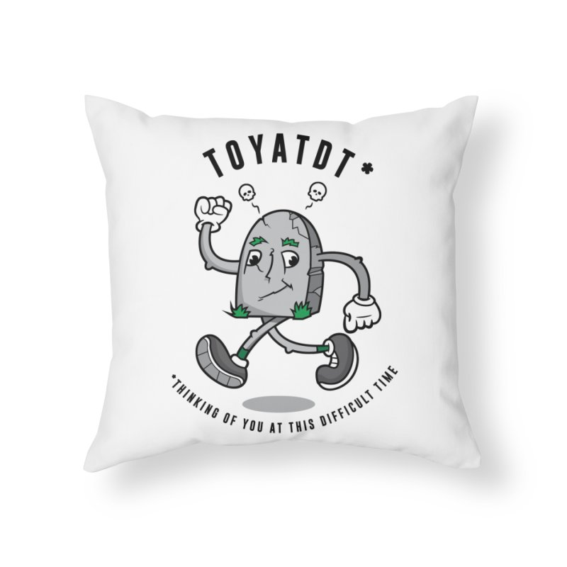 TOYATDT Home Throw Pillow by Ian J. Norris
