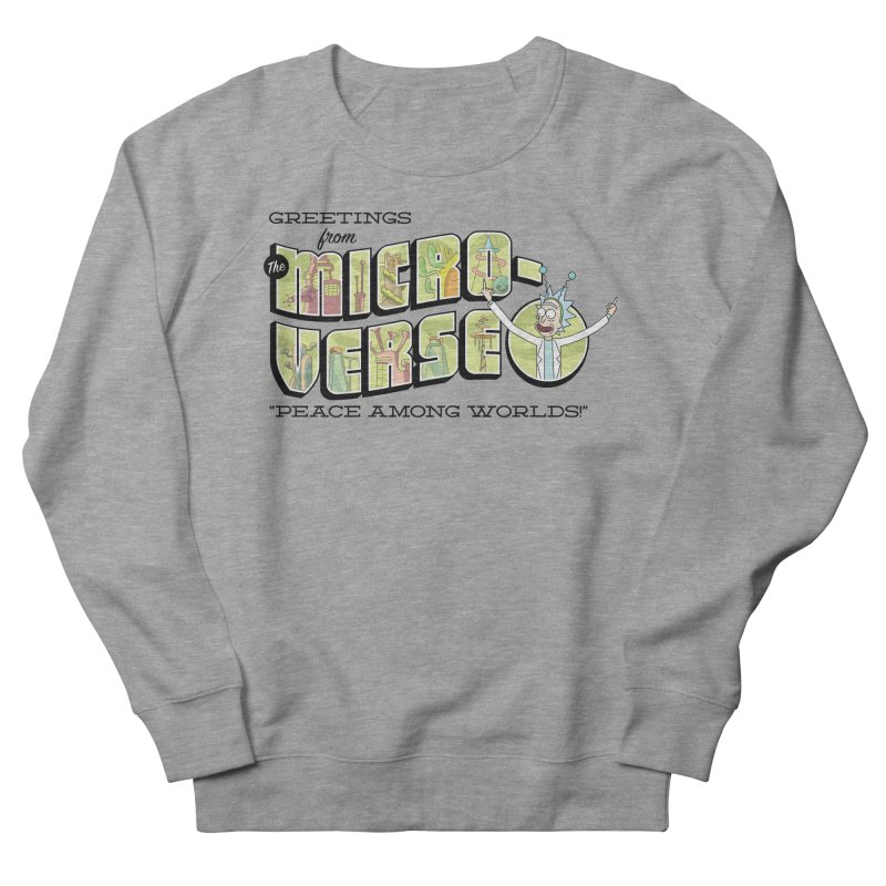 Greetings from The Microverse! Men's Sweatshirt by Ian J. Norris