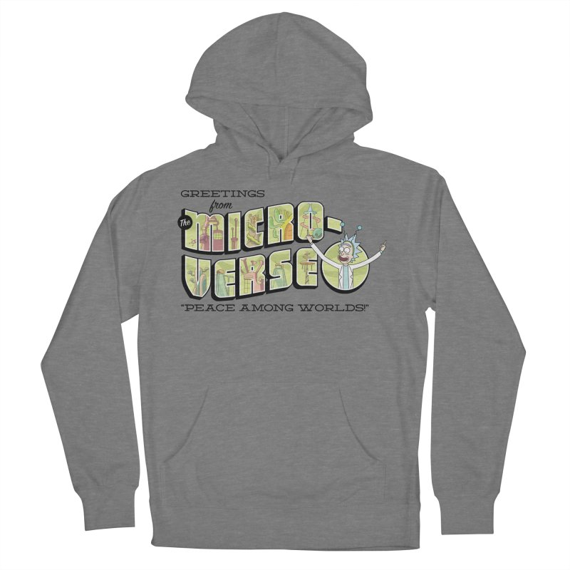 Greetings from The Microverse! Men's Pullover Hoody by Ian J. Norris