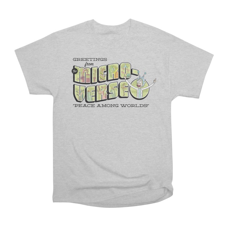 Greetings from The Microverse! Men's T-Shirt by Ian J. Norris
