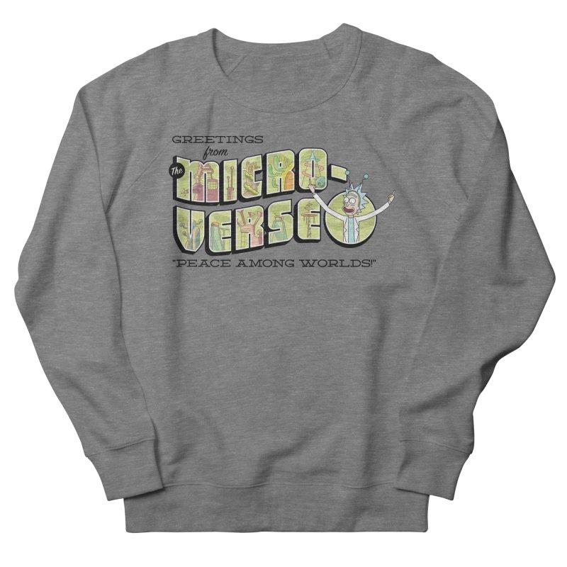 Greetings from The Microverse! Women's Sweatshirt by Ian J. Norris