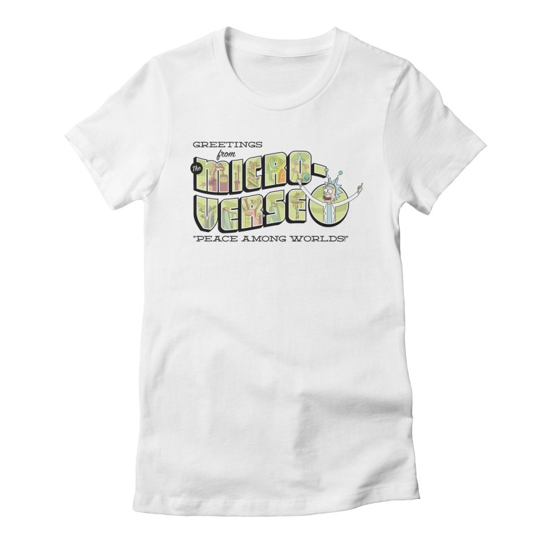 Greetings from The Microverse! Women's T-Shirt by Ian J. Norris