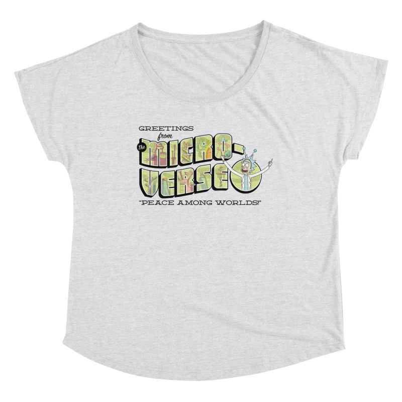 Greetings from The Microverse! Women's Scoop Neck by Ian J. Norris