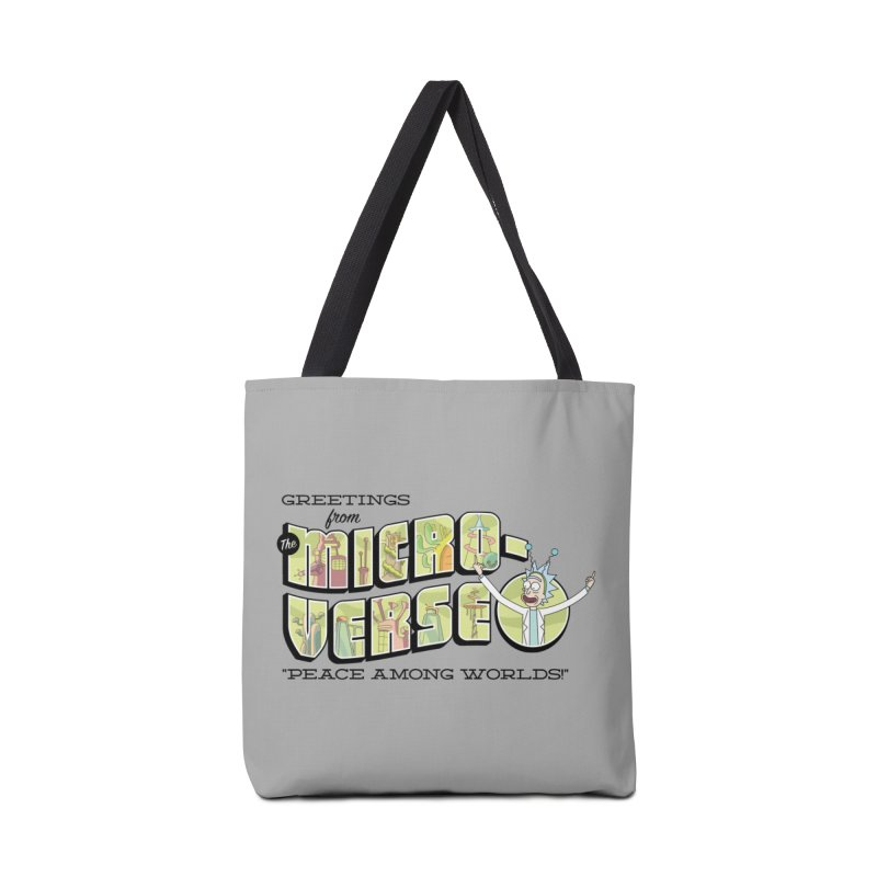 Greetings from The Microverse! Accessories Bag by Ian J. Norris