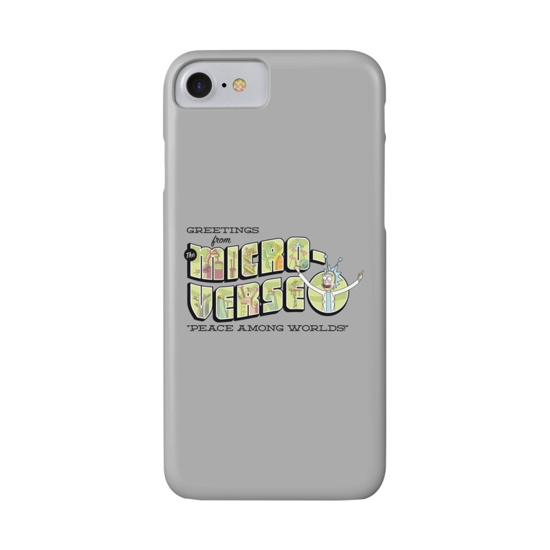 Greetings from The Microverse! Accessories Phone Case by Ian J. Norris