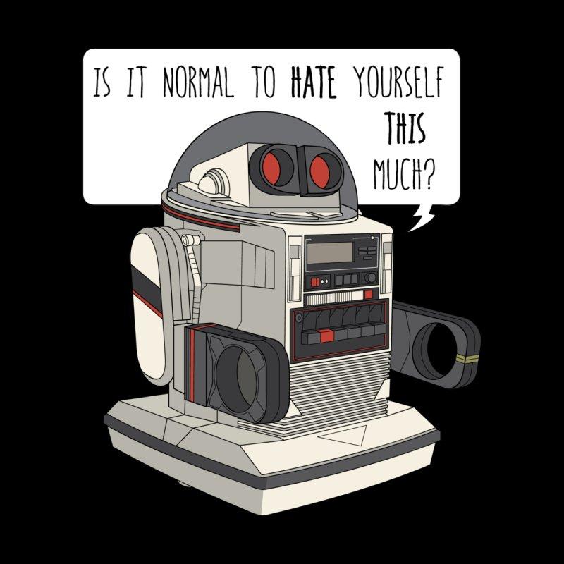 Cosmic Rain - Omnibot Men's T-Shirt by Ian J. Norris