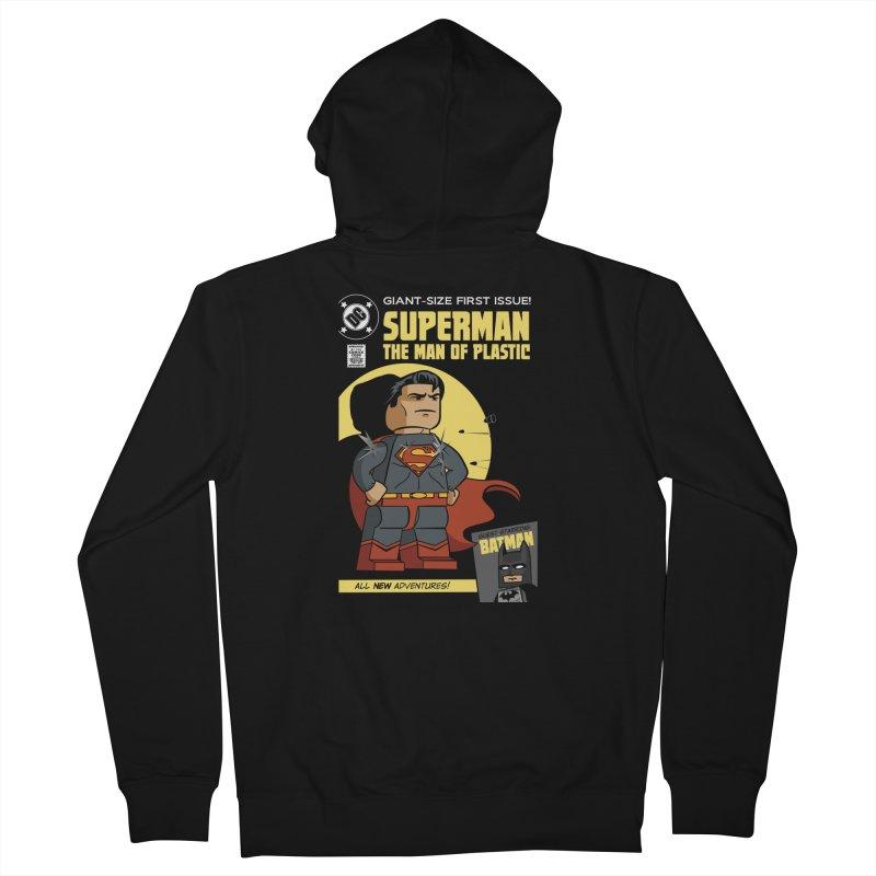 Lego Superman Men's Zip-Up Hoody by Ian J. Norris