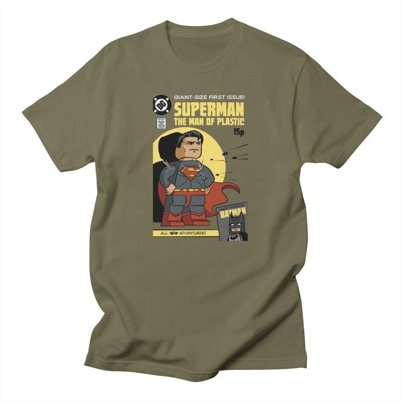 Lego Superman Men's T-Shirt by Ian J. Norris