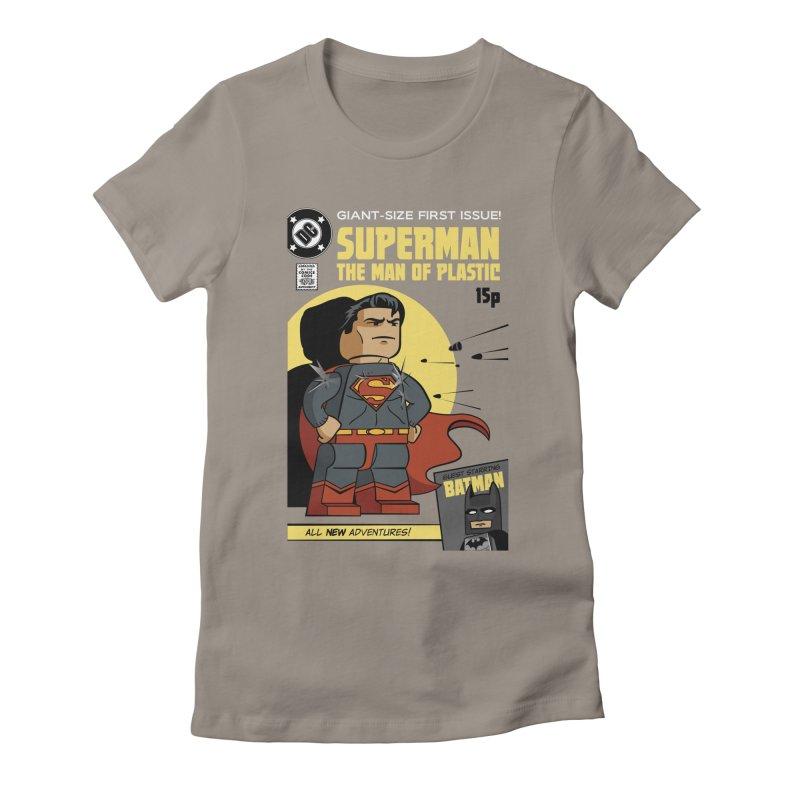 Lego Superman Women's T-Shirt by Ian J. Norris