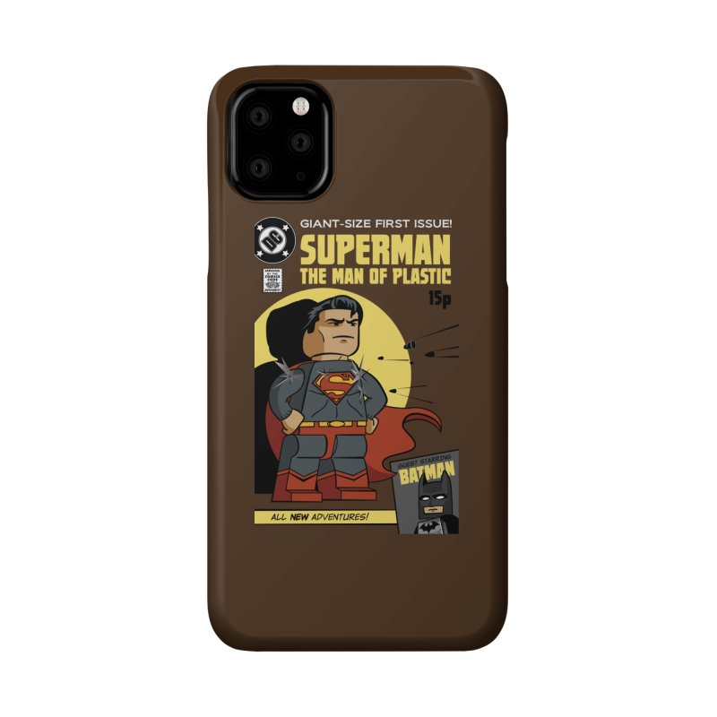 Lego Superman Accessories Phone Case by Ian J. Norris