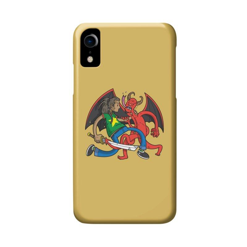 Star Dread Kill The Devil Accessories Phone Case by Ian J. Norris