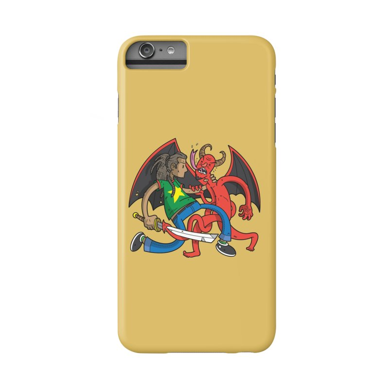 Star Dread Kill The Devil Accessories Phone Case by Ian J. Norris