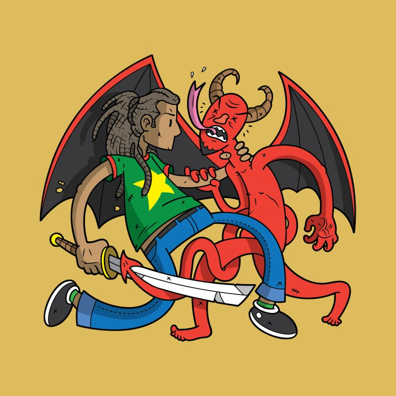 Star Dread Kill The Devil Kids T-Shirt by Ian J. Norris