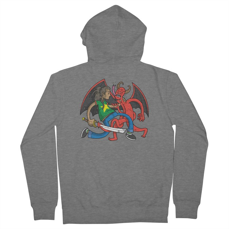 Star Dread Kill The Devil Men's Zip-Up Hoody by Ian J. Norris