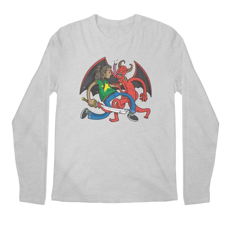 Star Dread Kill The Devil Men's Longsleeve T-Shirt by Ian J. Norris